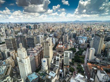 Banespa Building in Sao Paulo