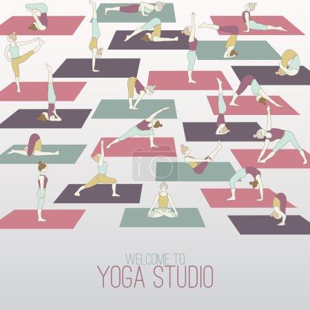 Yoga studio.