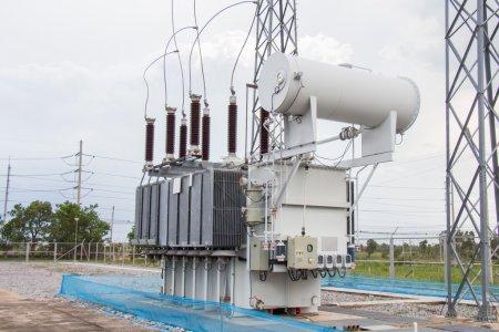 Power transformer in sub station 115 kv down to 22 kv