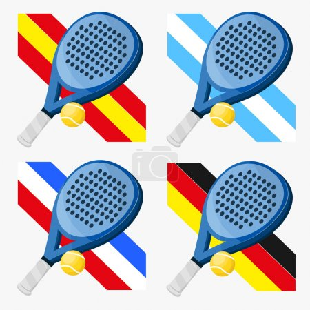 Padel flags