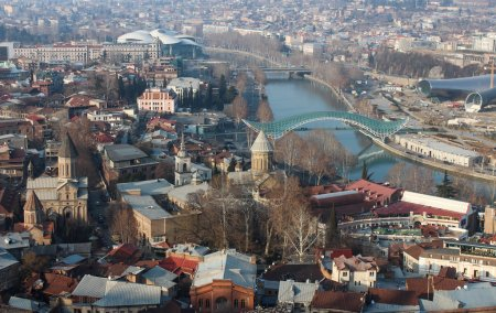 Old city of Tbilisi