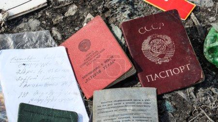 Passports of former Soviet Union
