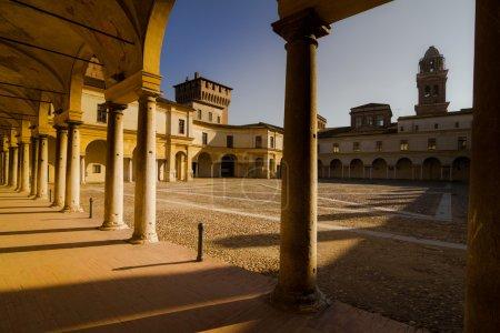 Piazza Mantova...