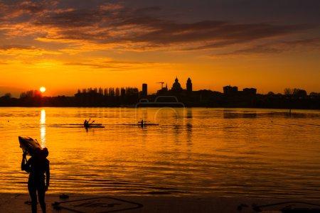 Sunset Mantua...