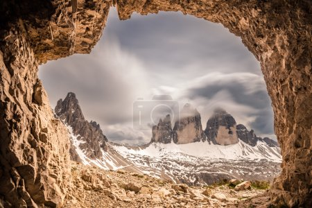 Mountain panorama in Italy Dolomites