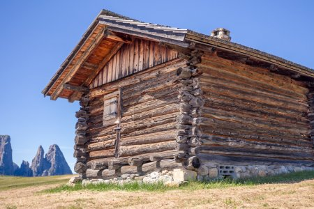 Mount Sciliar in the Dolomites