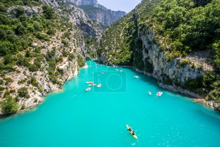 Photo for Canyon Verdon (Provence, France) - tre most beautiful canyon in Europe. - Royalty Free Image