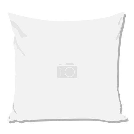 White pillow, pillow isolated, pillow vector, pill...
