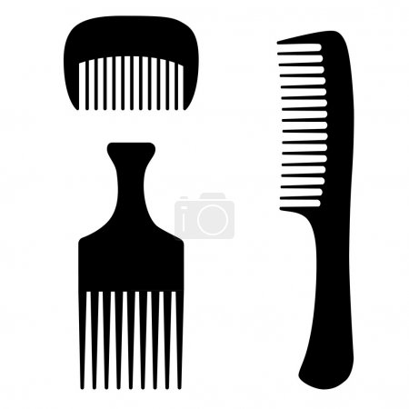 Three combs