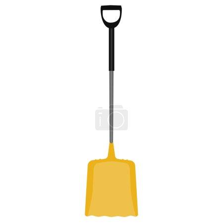 Snow shovel,