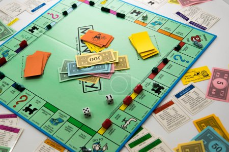 Photo for Monopoly board game - Royalty Free Image