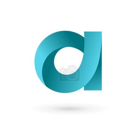 Letter A logo icon design template elements