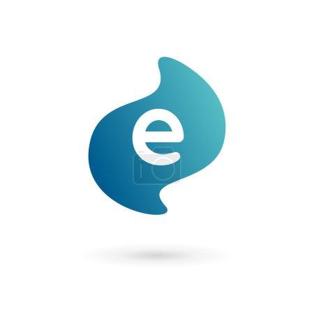 Letter E logo icon