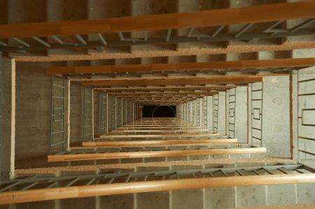 Concrete grunge Staircase Interior
