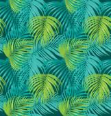 "Постер, картина, фотообои ""palm leaf pattern"""