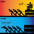 Go! or Let's Go!, Leader Business or Boss Business...