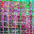 Colorful abstract background texture. glitches, di...