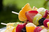 Fresh, Healthy Fruit Kebabs