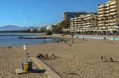 Marbella beach a port