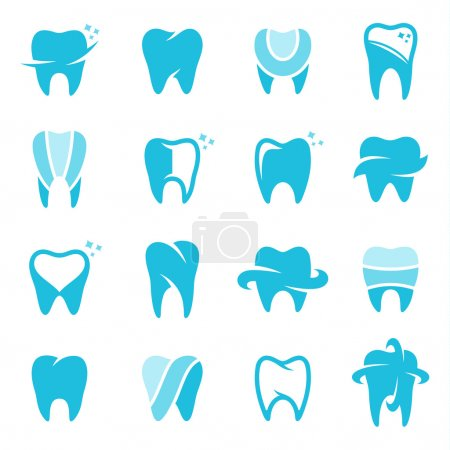 Vector Tooth Icons