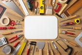 DIY a domácí zlepšení nápis