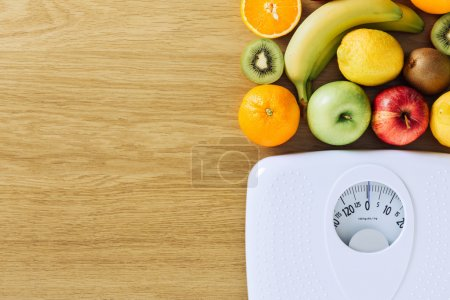 Healthy eating and weight loss concept