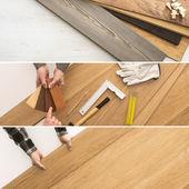 Flooring installation at home