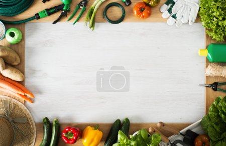 Farming and gardening frame