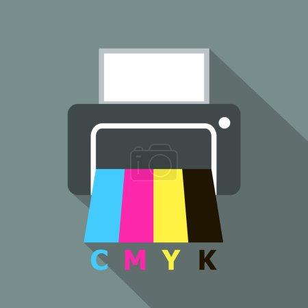 CMYK printer