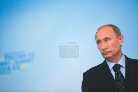 Photo pour Vladimir Vladimirovich Putin - image libre de droit