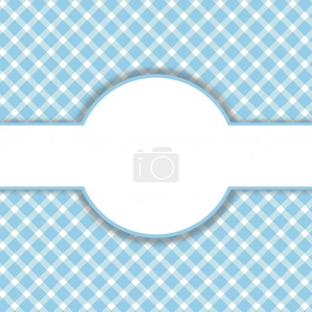 Checkered Vintage Background blue