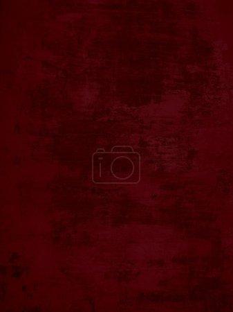 Grunge background of dark red concrete wall