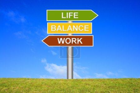 Signpost - Work Life Balance