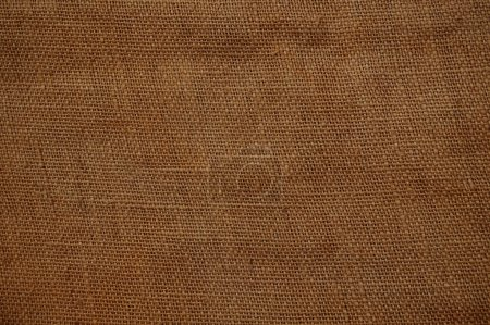 Old gunnysack structure background brown