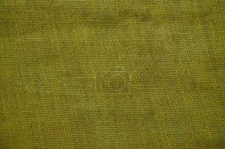 Old gunnysack structure background yellow
