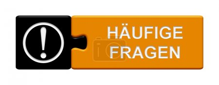 Puzzle Button showing faq in german