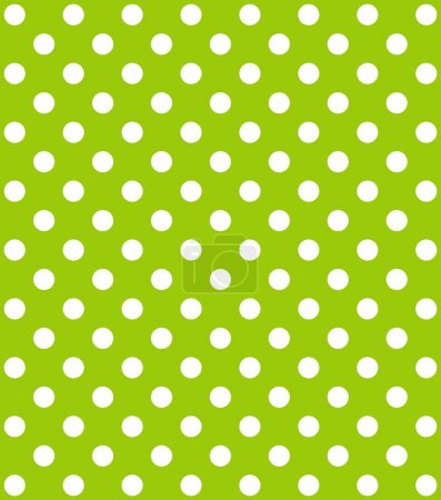 Dots background green and white