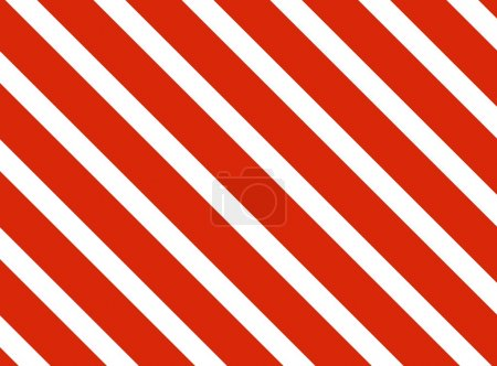 Photo for Background with red and white diagonal stripes - Royalty Free Image