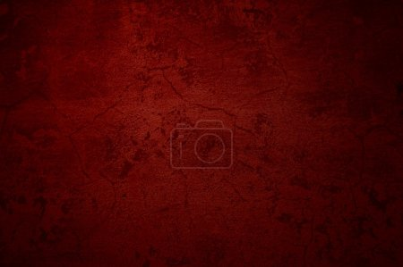 Photo for Cool grunge background of an old red surface - Royalty Free Image