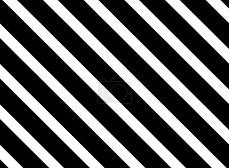 Background with diagonal black and white stripes