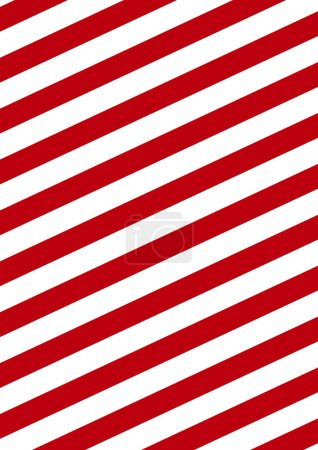 Photo for Background with diagonal red and white stripes - Royalty Free Image