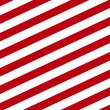 Background with diagonal red and white stripes...
