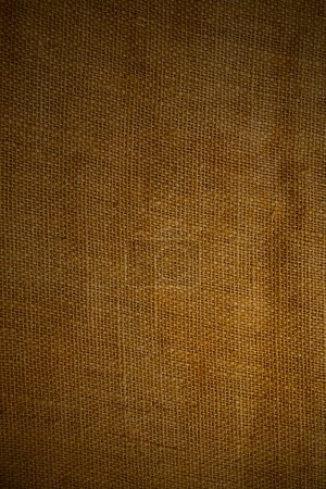 Old brown sack as background
