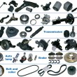 The most popular spare parts of the chassis, trans...