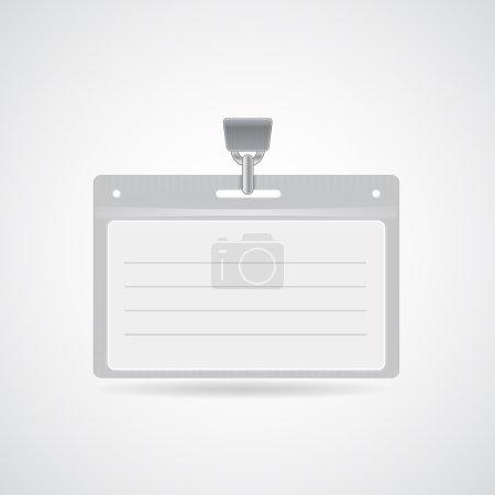 Name bag holder with lanyard