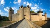 Carcassonne Hrad Francie