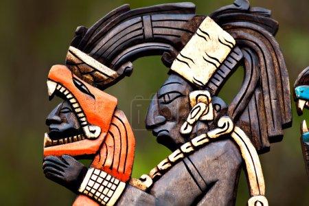 Photo pour Artisanat mexicain traditionnel Dieu Pakal - image libre de droit