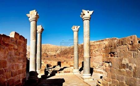 Jerash the roman old city in Petra Jordan