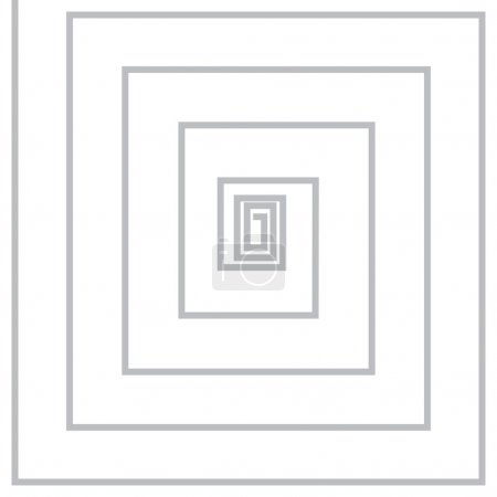 Volute, spiral, concentric lines, circular, rotating background
