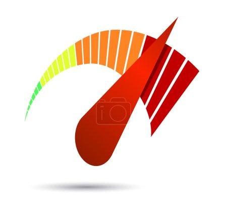Speedometers or general indicators with needles....